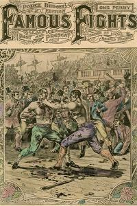 The First Fight Between Tom Spring and Jack Langan, 1824