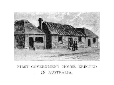 The First Government House, Sydney, Australia--Giclee Print