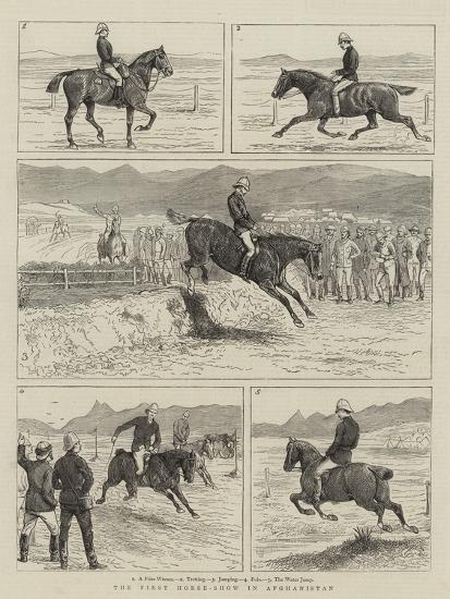 The First Horse-Show in Afghanistan--Giclee Print