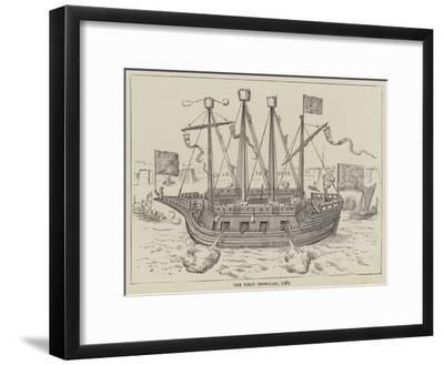 The First Ironclad, 1585
