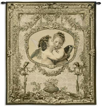 The First Kiss--Wall Tapestry