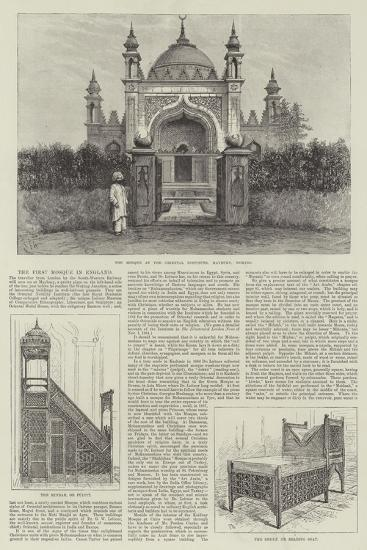 The First Mosque in England-Frank Watkins-Giclee Print