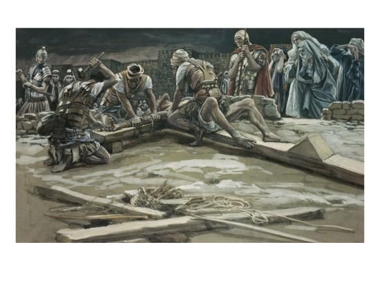 The First Nail-James Tissot-Giclee Print