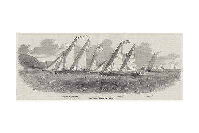The First Regatta at Lisbon--Giclee Print