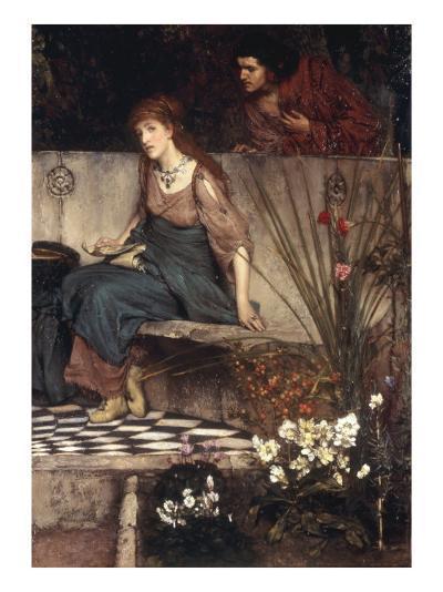 The First Reproach-Sir Lawrence Alma-Tadema-Giclee Print
