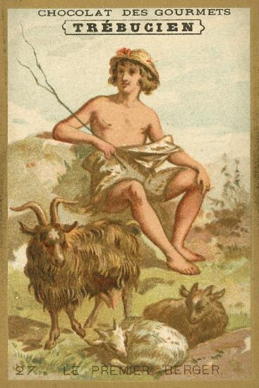 The First Shepherd--Giclee Print