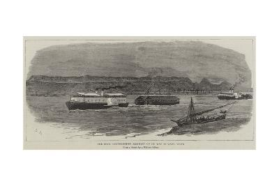 The First Staffordshire Regiment on its Way to Wady Halfa-Joseph Nash-Giclee Print