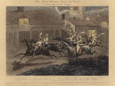 The First Steeplechase on Record-Henry Thomas Alken-Giclee Print