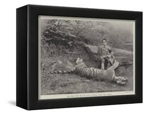 The First Tiger Shot by Prince Bughwan Singh, Aged Twelve
