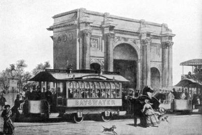 The First Trams in London, 1861