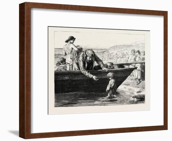 The Fisherman's Darling-John Dawson Watson-Framed Giclee Print