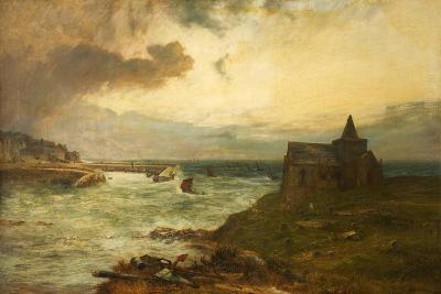 The Fisherman's Haven, St Monans, Fifeshire, 1872-John MacWhirter-Giclee Print