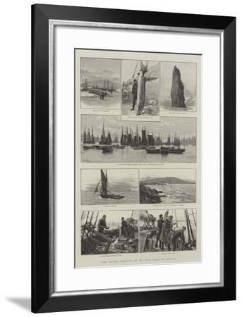 The Fishing Industry on the West Coast of Ireland-Joseph Nash-Framed Giclee Print