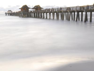 The Fishing Pier at Naples Beach-Raul Touzon-Photographic Print