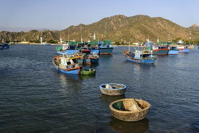 The Fishing Port, Phan Rang, Ninh Thuan Province, Vietnam, Indochina, Southeast Asia, Asia-Nathalie Cuvelier-Photographic Print