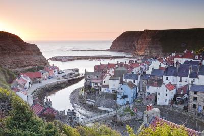 The Fishing Village of Staithes in the North York Moors-Julian Elliott-Photographic Print