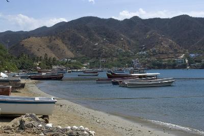 The Fishing Village of Taganga, Along the Caribbean Coast, Colombia-Natalie Tepper-Photo