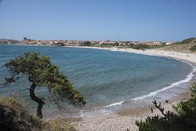 The Fishing Village, Resort and Beach of Isola Rossa, Sardinia, Italy, Mediterranean-Ethel Davies-Photographic Print