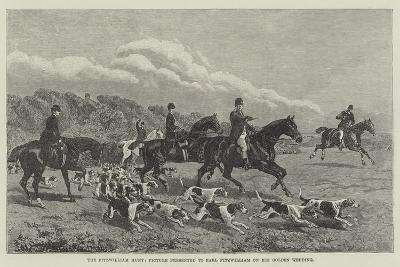 The Fitzwilliam Hunt, Picture Presented to Earl Fitzwilliam on His Golden Wedding--Giclee Print