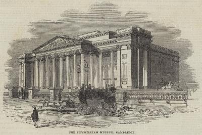 The Fitzwilliam Museum, Cambridge--Giclee Print