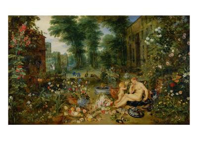 The Five Senses: Smell-Jan Brueghel the Elder-Giclee Print