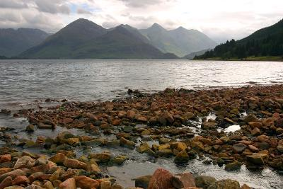 The Five Sisters of Kintail and Loch Duich, Highland, Scotland-Peter Thompson-Photographic Print