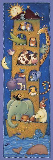 The Five Story Ark-Viv Eisner-Art Print