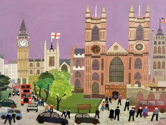 The Five Towers of Westminster-William Cooper-Giclee Print