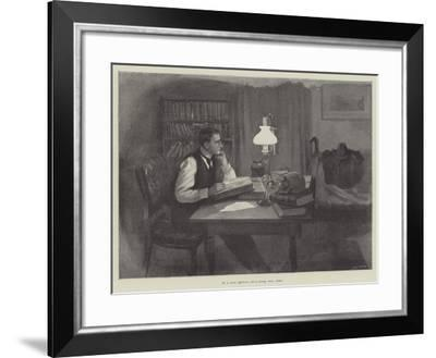 The Five Years' Tryst-Amedee Forestier-Framed Giclee Print