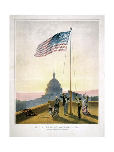 The Flag That Has Waved for One Hundred Years--Giclee Print