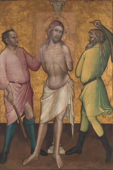 The Flagellation, c.1395-1400-Aretino Luca Spinello or Spinelli-Giclee Print