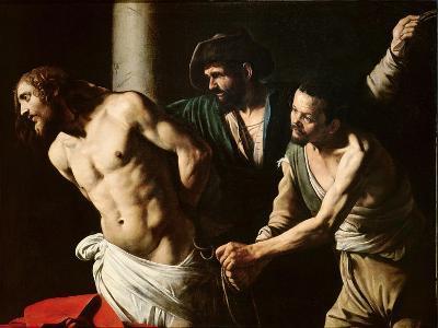 The Flagellation of Christ, circa 1605-7-Caravaggio-Giclee Print