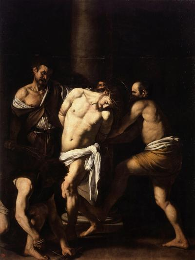 The Flagellation of Christ-Caravaggio-Giclee Print