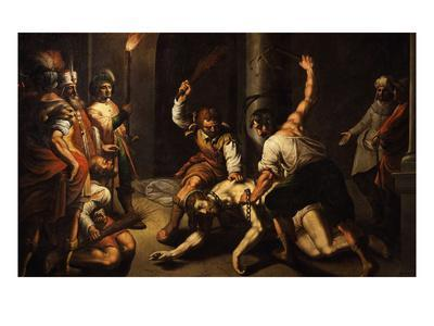 The Flagellation of Christ-Jeremie Le Pilleur-Giclee Print