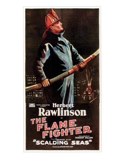 The Flame Fighter - 1925 I--Giclee Print
