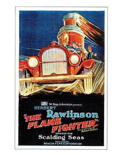 The Flame Fighter - 1925 III--Giclee Print