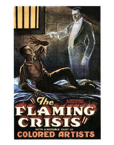 The Flaming Crisis - 1924--Giclee Print
