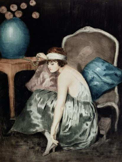 The Flapper-William Ablett-Giclee Print