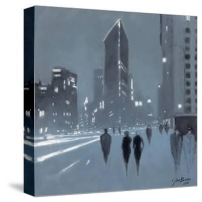 The Flat Iron Building, New York-Jon Barker-Stretched Canvas Print