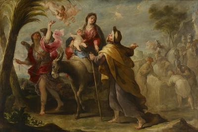 The Flight into Egypt, 1669-Jose Moreno-Giclee Print