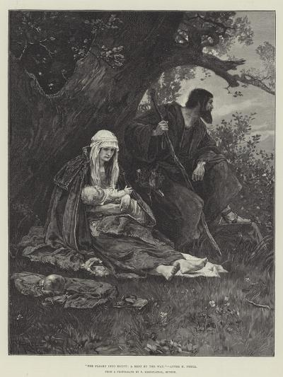 The Flight into Egypt, a Rest by the Way--Giclee Print