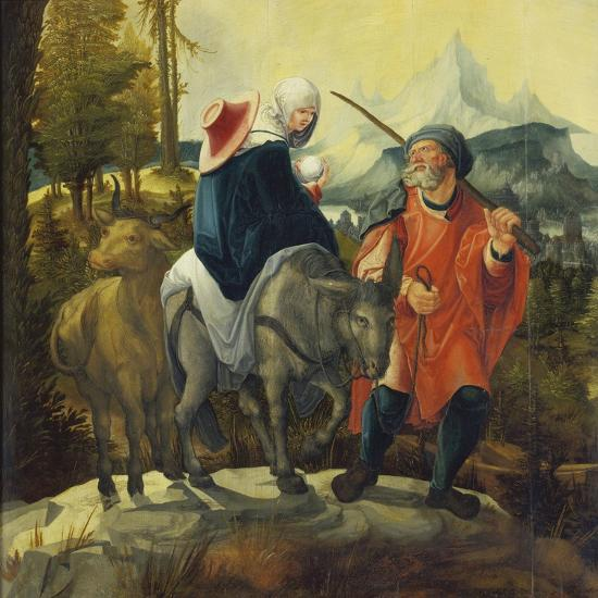 The Flight into Egypt, C. 1525-30-Wolf Huber-Giclee Print