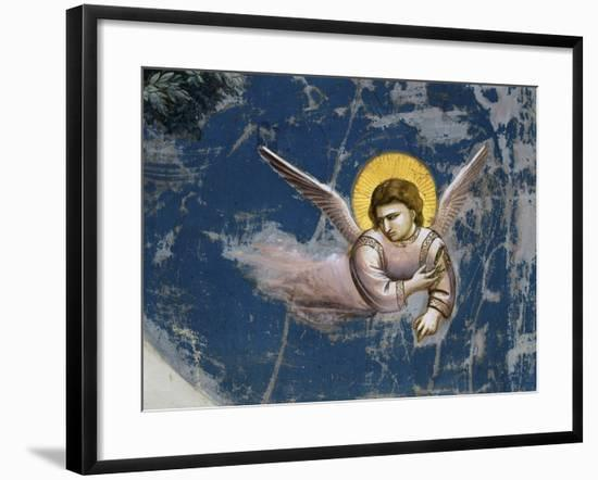 The Flight into Egypt, Detail-Giotto di Bondone-Framed Giclee Print