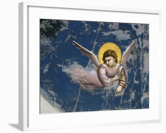 The Flight into Egypt, Detail-Giotto di Bondone-Framed Giclee Print