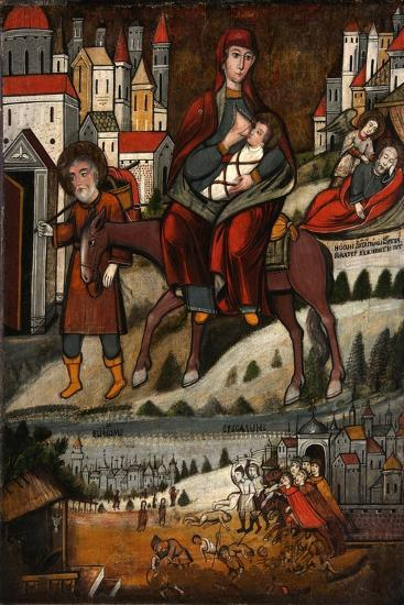 The Flight into Egypt, Early 17th C--Giclee Print