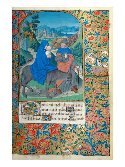 The Flight into Egypt-French School-Giclee Print