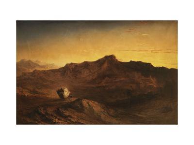 The Flight into Egypt-John Martin-Giclee Print