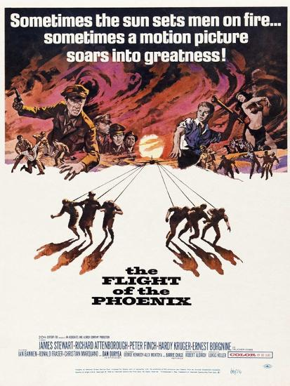 The Flight of the Phoenix, 1965, Directed by Robert Aldrich--Giclee Print
