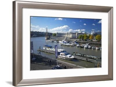 The Floating Harbour, Bristol, England, United Kingdom, Europe-Rob Cousins-Framed Photographic Print