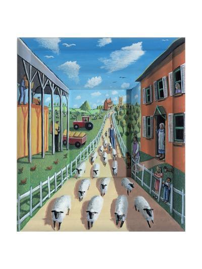The Flock, 2009-P.J. Crook-Giclee Print